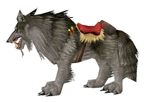 WOW Dire Wolf